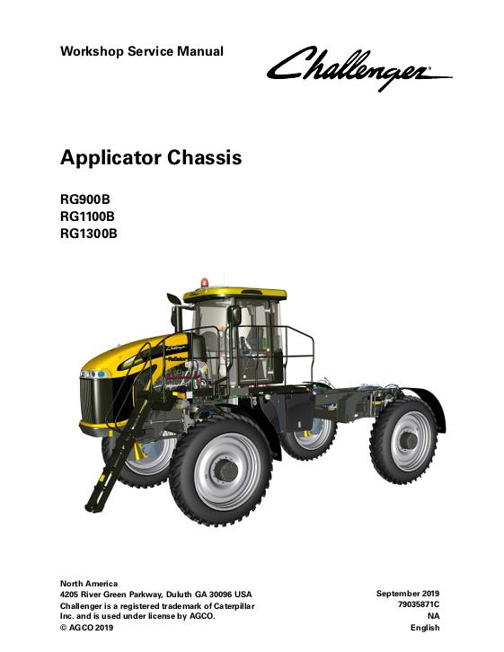 AGCO Technical Publications: Challenger Applicators-Row