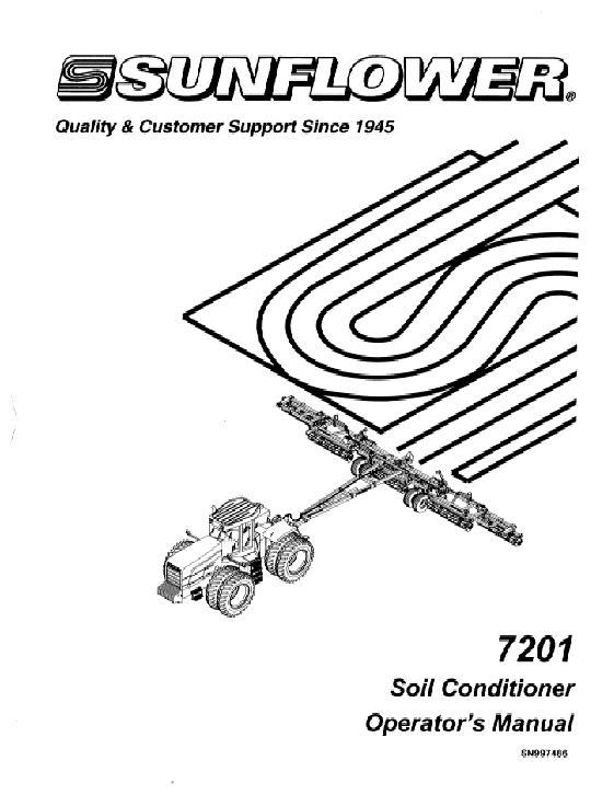 AGCO Technical Publications: Sunflower Tillage-Cultivators