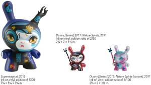 64 Colors' Supermagical and Nature Spirits Dunnys from Kidrobot