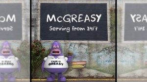Aaron Craig's McGreasy from Pobber Toys