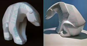 Ajee's Kosplay - All Words White (Polar Bear), 35cm tall resin version