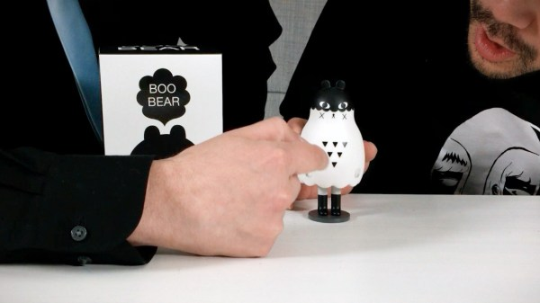 Andrea Kang's Boo Bear - the figure, chest pattern
