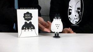 Andrea Kang's Boo Bear - the figure, ghostly underside