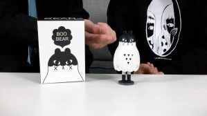 Andrea Kang's Boo Bear - the figure, ghostly hood
