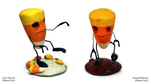 Andrew Bell's Killer Candy: Zombie Candy Corn versions, 2012
