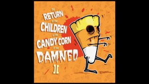 Andrew Bell's Killer Candy: Zombie Candy Corn print