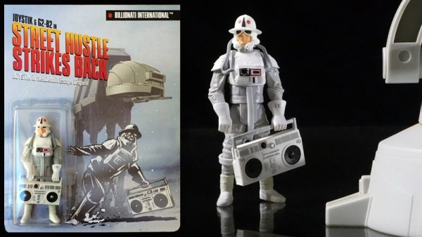 Bill McMullen's AD-AT: Custom - Accompanying Joystik & G2-B2 action figure