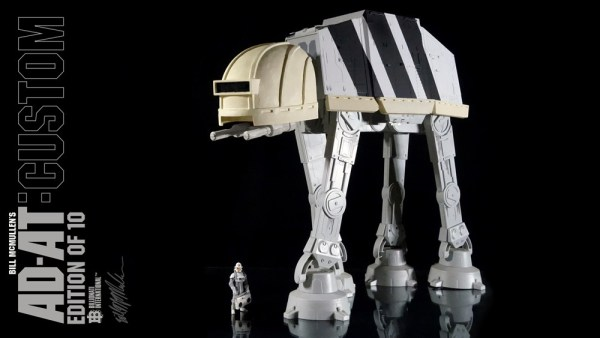 Bill McMullen's AD-AT: Custom - Handmade AT-AT Modified Edition