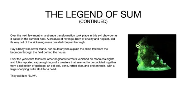 Bob Conge / Plaseebo's The Legend of SUM