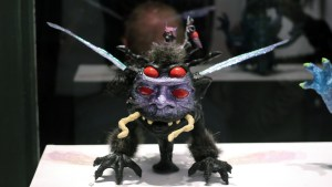 Triclops Studio's Bogtaur at Clutter Gallery's Boglins Custom Toy Show exhibition