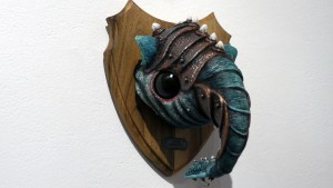 Doktor A's The Hob-Boglin (Hoblinus Boglinum) at Clutter Gallery's Boglins Custom Toy Show exhibition