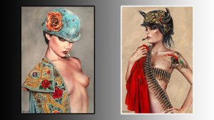 Brian M. Viveros' Matador exhibition at Thinkspace Art Gallery, 2015