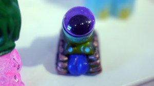 Monster Mash - Bwana Spoons' one-off Stankor: Eye Tank (Purple/Blue)