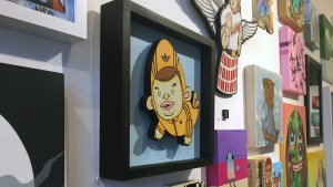 RWK's Cluttered Group Exhibition - Mike Die's O.G BeeBoy