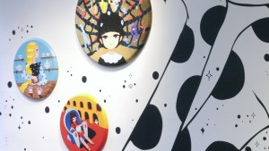 Cirque Noir exhibition - Stickymonger's Teacups Have Eyes, Relax In Anxiety, and The Complicated