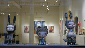 Cirque Noir exhibition - Kathie Olivas' Two-Faced Girl Series