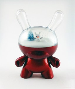 Clark's DayDream Studio - DayDreaming of a WinterWonderland Edition Custom Dunny (front)
