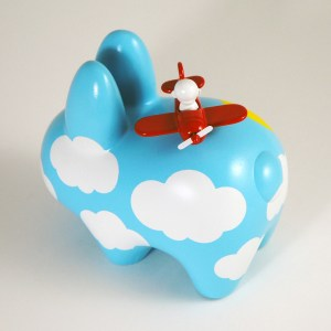 Clark's DayDream Studio - Flying High Custom Labbit (overhead)