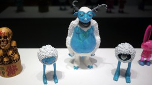 Kyle Kirwan's Alwyn, Wilson, and Bentley from Gift Wrapped 2016 at The Clutter Gallery