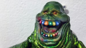 Falcontoys' A Very Slimer the Hutt Christmas from Gift Wrapped 2016 at The Clutter Gallery
