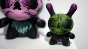 Cat Atomic's Atomic Lavender from Gift Wrapped 2016 at The Clutter Gallery