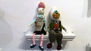Stitched 2 Exhibition - Cat Rabbit's Lady Sanshoku & Hard Boiled Homebody