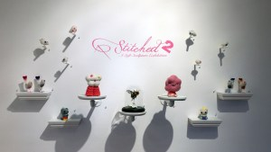 Stitched 2 Exhibition - Side Wall Overview