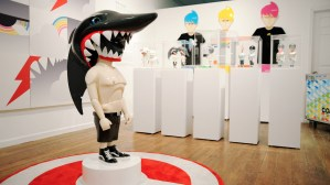 Coarse's Noop Show at Chicago's Rotofugi Gallery, 2008