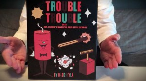 Dabs Myla's Trouble Trouble - Box Art