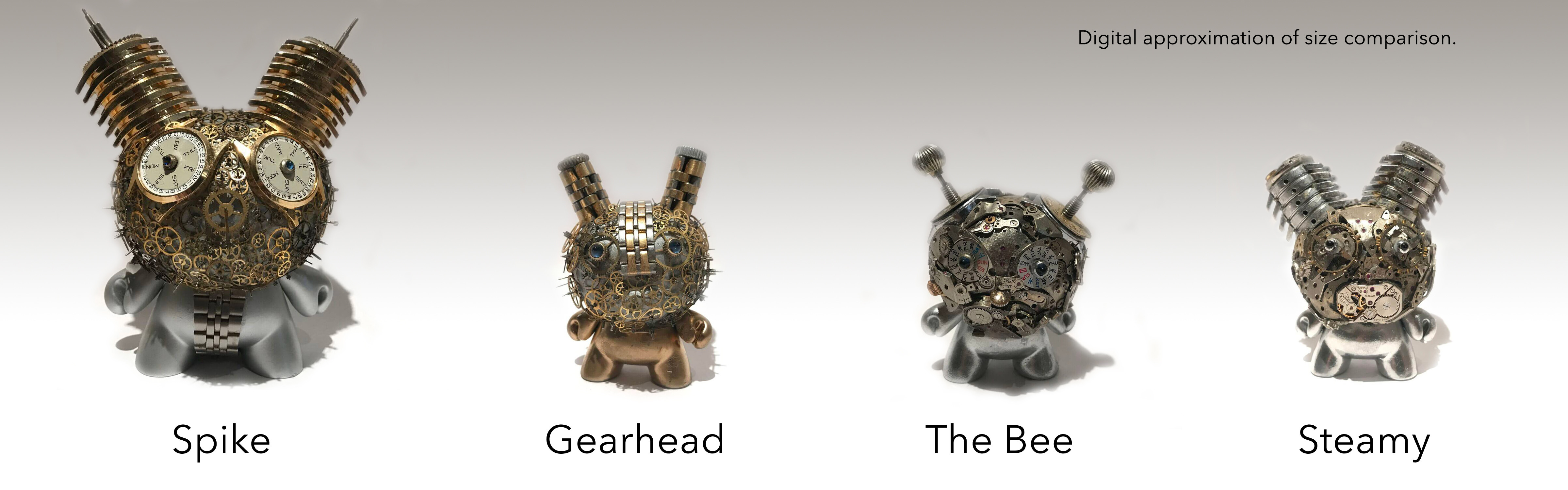 Watch Parts Motorcycles' Watch Parts Dunnys from Kidrobot