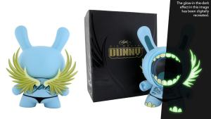 "Deph's GID Big Mouth 8"" Dunny, 2006"