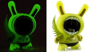 Deph's GID Big Mouth Dunny from the DesignerCon Series, 2018