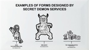 Secret Demon Services Designs, inc. Dani the Subhuman Girl, Smalmack, and The Vanishing Witch