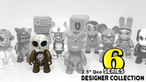 "DrilOne's 2.5"" Qee Designer Collection, Series 6: Toyer Scout"