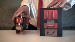 The Duang - Cube Bot - Figure & Box