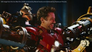 Robert Downey Jr. as Iron Man (2008)