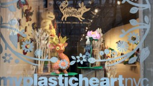 Horrible Adorables, plushPLAY & POPprolific's Furmutation at myplasticheart - Window Display