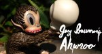 Gary Baseman's Ahwroo sculpture from APPortfolio Asia