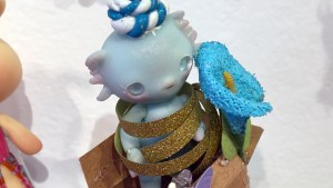 Clutter Magazine Gallery's Gift Wrapped 2017 - Louis Sophie (Nympheas Dolls)'s Tit Pousse 1 (BJD)
