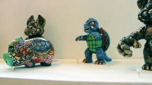 The Great Unknown exhibition - Remjie - Space Burger Gamera