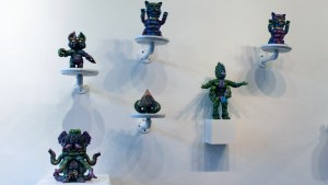 The Great Unknown exhibition - Wonder Goblin display overview