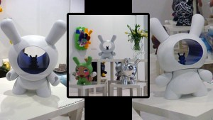 """Greg Foley's 20"""" Dunny for Kidrobot's The Dunny Show, 2004"""