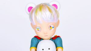 Hikari Shimoda's Lonely Hero and Obake from APPortfolio - Polaroid Version
