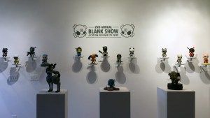 Huck Gee's Blank Show 2 - Display overview