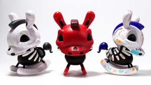 "Igor Ventura's The Death of Innocence (Whitewood, Redwood & Dia de los Muertos) 8"" Dunnys from Kidrobot"