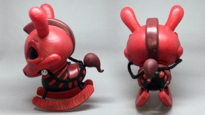 "Igor Ventura's The Death of Innocence (Redwood) 8"" Dunny from Kidrobot"