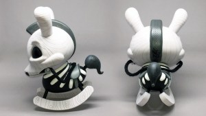 "Igor Ventura's The Death of Innocence (Whitewood) 8"" Dunny from Kidrobot"