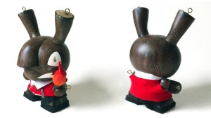 "Most Wanted 3 Custom Dunny: Igor Ventura's 8"" Pyromaniac Puppet"