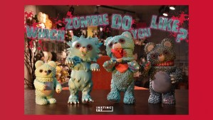 InstincToy's Snowy - Zombie editions of Mini Muckey, Curio, Gyawo & Muckey