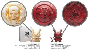 """J*RYU's Arcane Divination: 8"""" The Clairvoyant Dunny from Kidrobot"""